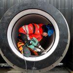 Arbete med Weholte kulvert, Öresundskraft