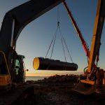 Infrakulvert installeras i Helsingborgs hamn